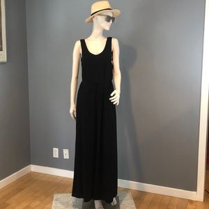 NWT Vince Black Maxi Sleeveless Dress Sz XS